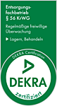 DEKRA certified as a waste disposal company according to § 56 KrWG