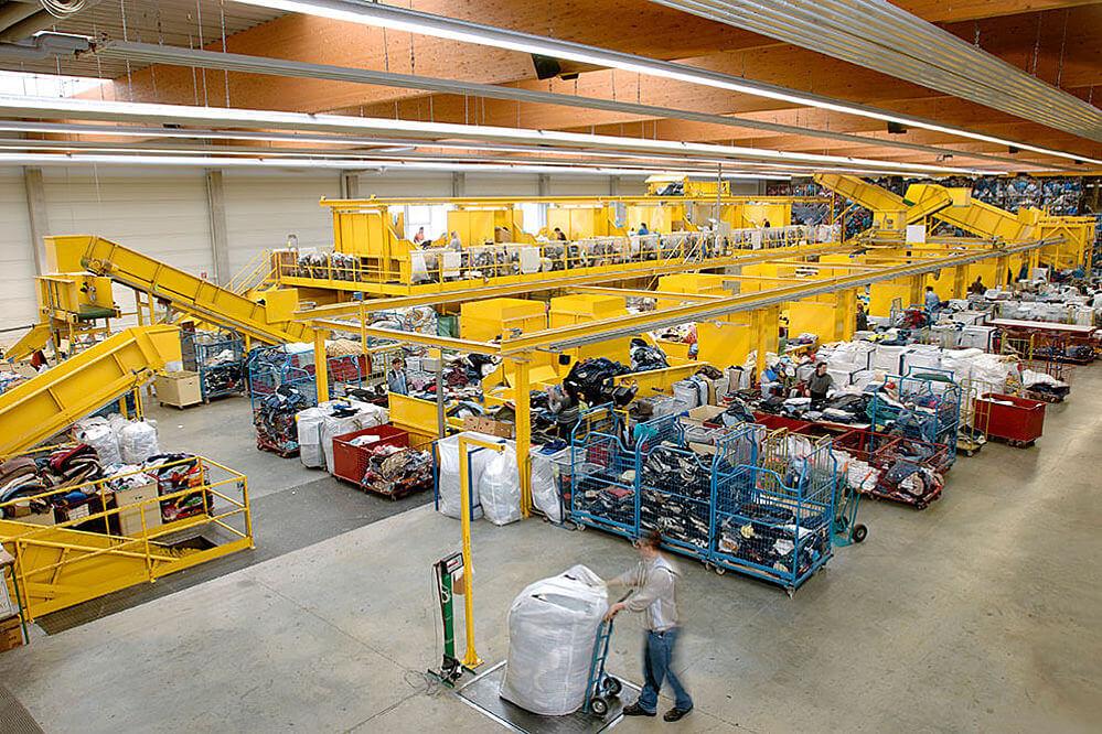 Striebel Textil - Odzież sortowana do międzynarodowej dystrybucji