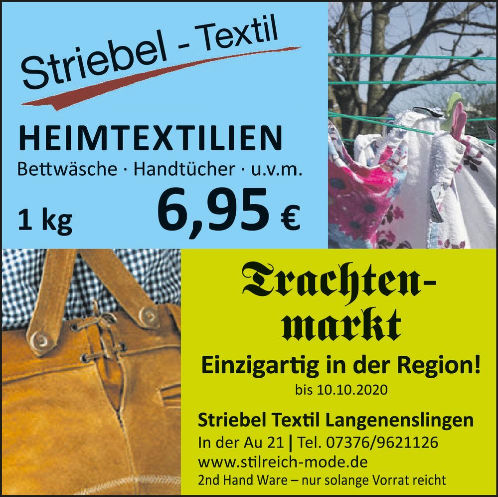 Striebel Heimtex   Trachten